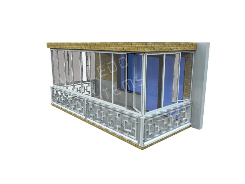 Valedo ICS 3 Laturi Balustrada Interioara